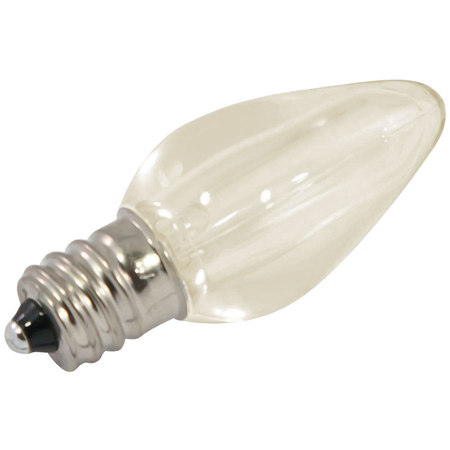 Warm White LED C7 Linear Light Strand Bulbs