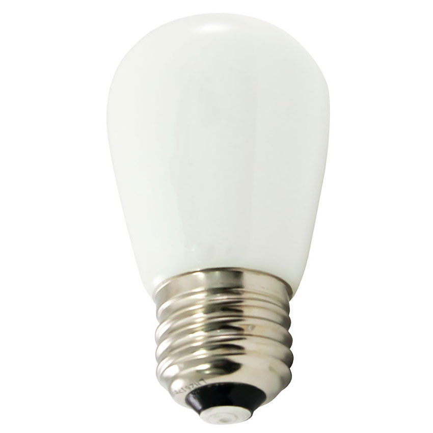Frosted White LED Professional S14 Light Bulbs