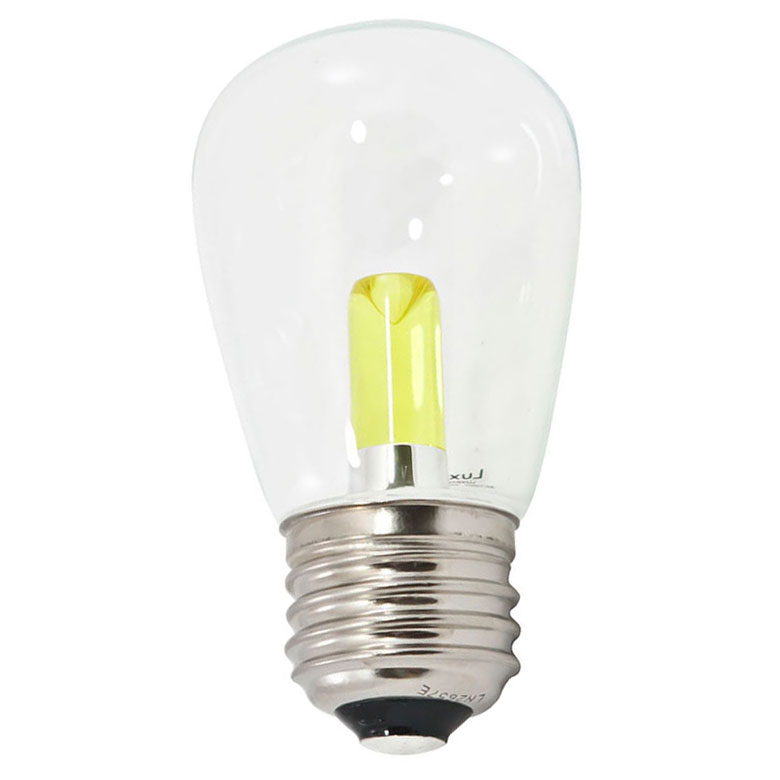Yellow LED Professional S14 Light Bulbs