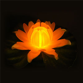 LED Glow Lily - Multicolor Floating Light