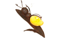 LED Firefly Laying on Leaf - GC1665530B
