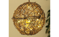 "Battery Operated 8"" Natural Grapevine LED Ball Light Sphere - GC1741230"