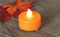 Autumn Super Bright Tealight w/ Feet - GC2010960