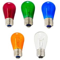 s14 light bulbs - Colored Light Bulbs