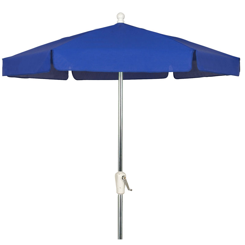 Pacific Blue Hexagon Garden Umbrella