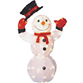 "3D Animated Snowman Lawn Decoration- 36"" - 905168"