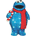 "3D Cookie Monster Lawn Decoration Light - 32"" - 900025"