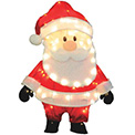 "3D Santa Claus Yard Decoration - 32"" - 900027"