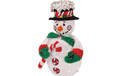 "Jolly Snowman Christmas Yard Art Light - 24"" - 905658"