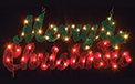 "Merry Christmas Lighted Sign - 15.75"" x 36""         GC7013890"