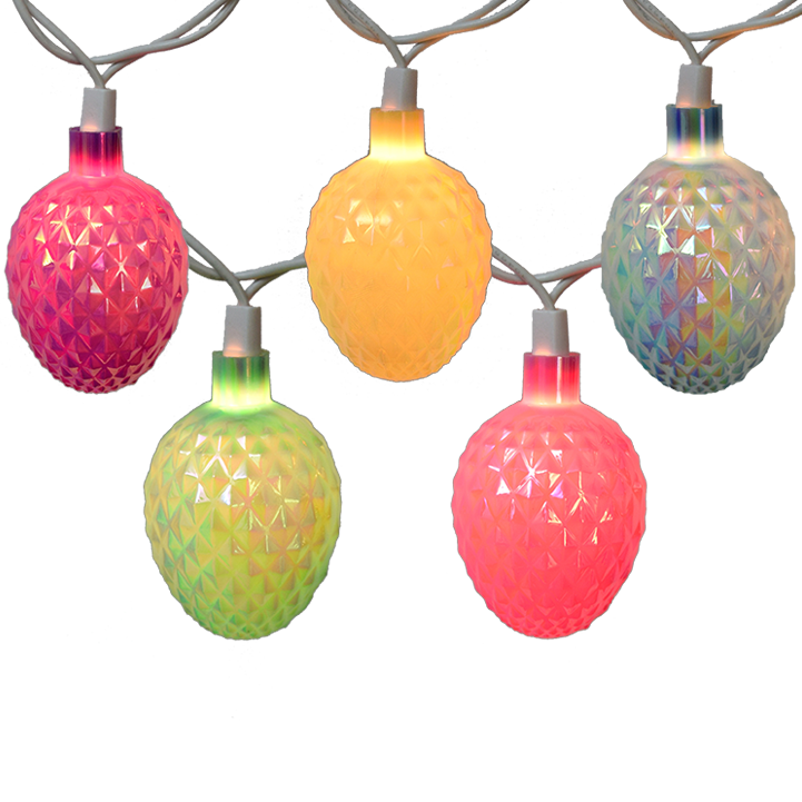 Easter Egg String Light Set - Diamond Pattern