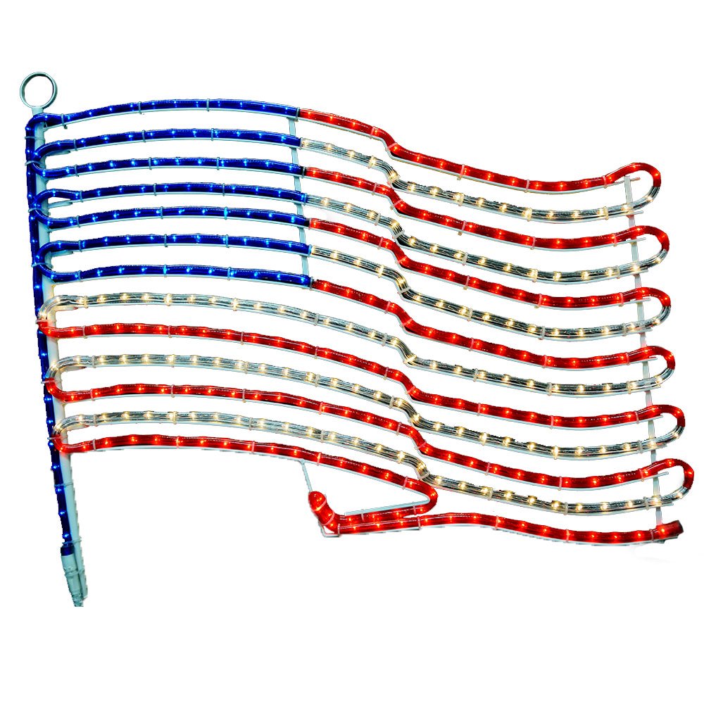 Patriotic String Lights Outdoor : 24