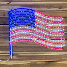 American Flag String Light