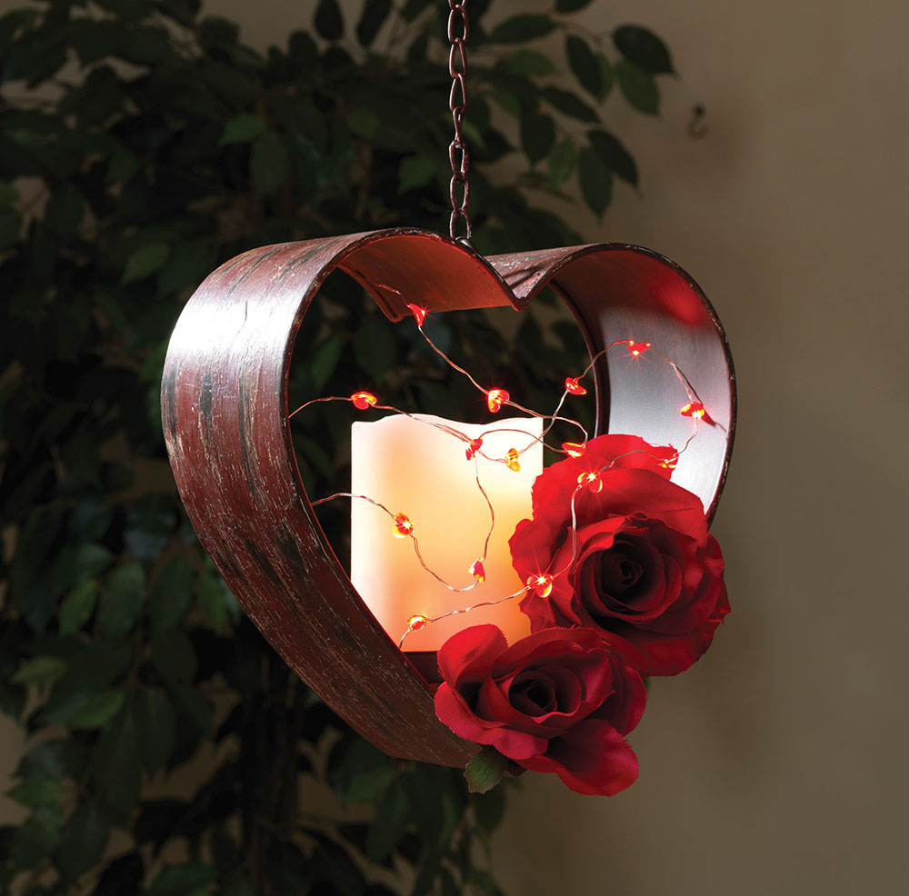 miniature led acrylic heart shaped party string lights - Valentine String Lights