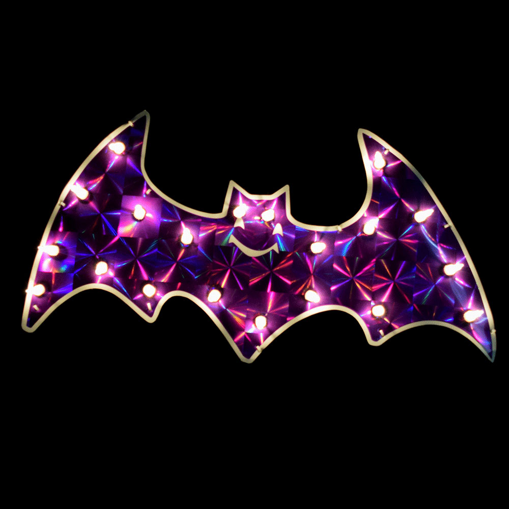 Halloween Flying Bat Light