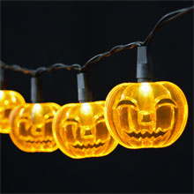 Halloween Pumpkin LED String Lights