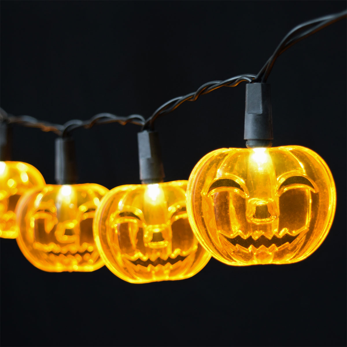 Purple Bat LED String Lights - Battery Operated - Oogalights.com - More Than 1,000 Party ...