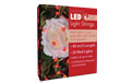 LED Acrylic Heart Battery Operated Party String Lights - 40 in. Red - GC2050980