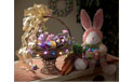 LED Acrylic Easter Egg Battery Operated Party String Lights 40in Multi - GC2051060