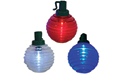 Red White & Blue Shimmer Globe LED Lights - Battery Operated - BS-54200