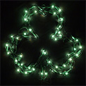"Green Shamrock Window Party Lights - 12"" - UL1207"