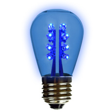 s14 medium base led colored light bulbs - Colored Light Bulbs