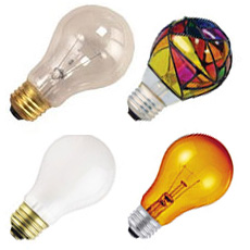 A-Shape Light Bulbs