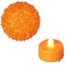 Yellow/Orange Decorative Lights