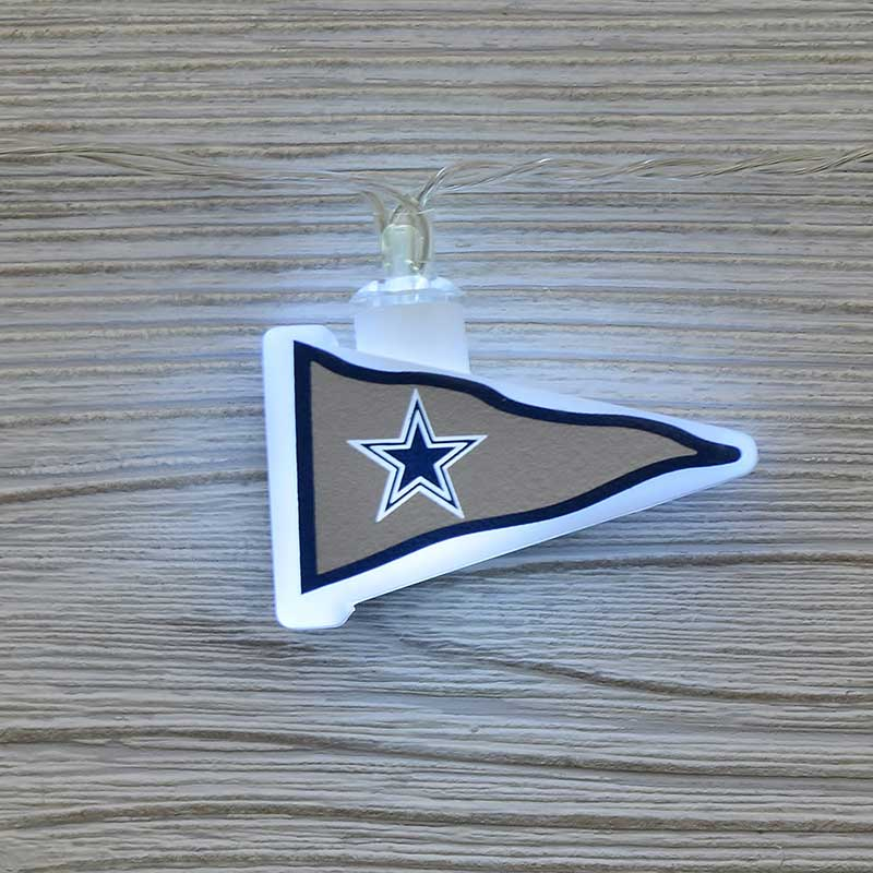 Red Sox String Lights : NFL Dallas Cowboys LED Pennant Lights - Battery Operated