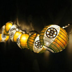 NHL Paper Lantern String Lights