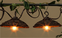 G40 Banana Leaf Cover Party String Lights - 10 Lights - GC2201410