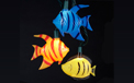 Tropical Colorful Fish Party String Lights - 10 Lights - UL4245