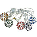 Wire Ball Patio Party String Lights - 800010
