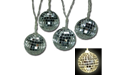 LED Disco Mirror Ball Party String Light Set Battery Operated - 10ct - GC2050910