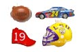 Sports Themed Party Lights: NFL Helmets, NASCAR® Race Cars, MLB, NCAA Logos & Helmets - Party Lights & String Lights