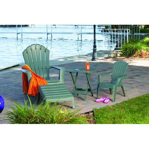 Quik-Fold Folding Patio Table, Sage