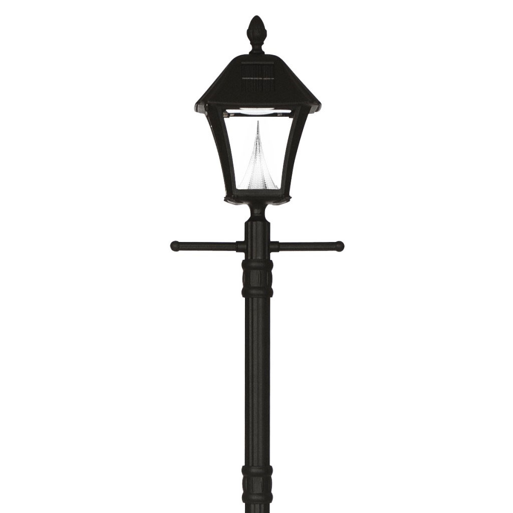 Baytown Planter LED Solar Lamp Post - Single Lamp