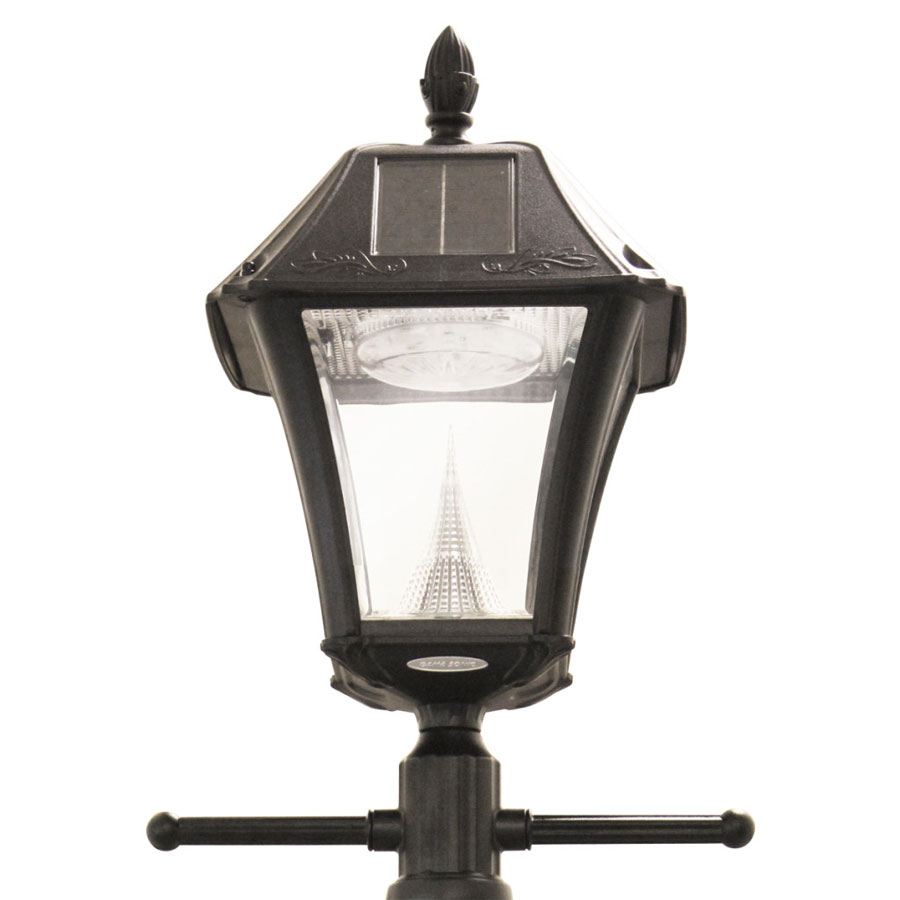 Baytown II LED Solar Lamp Post Light w/ EZ Anchor
