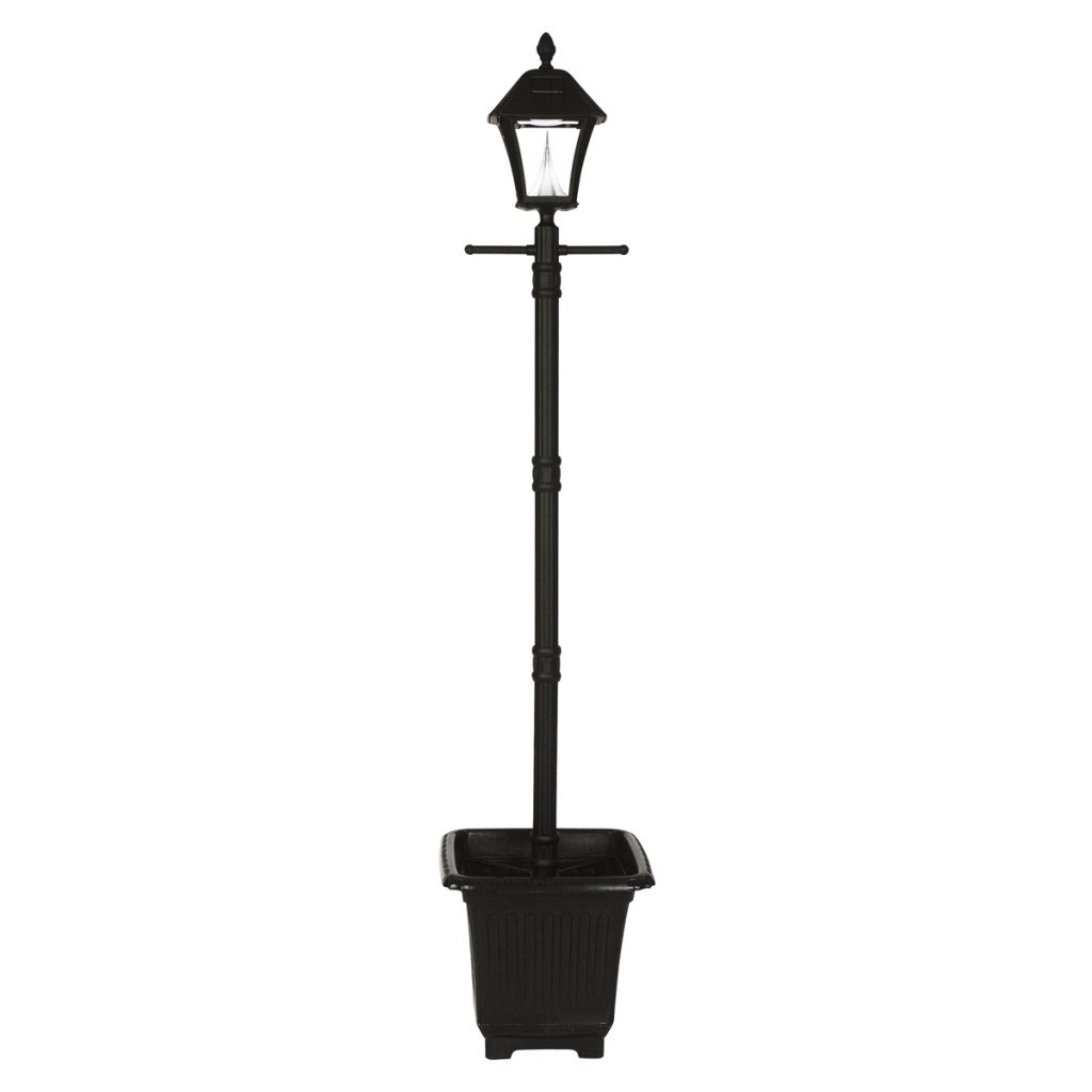 Baytown Planter Solar Lamp Post Light
