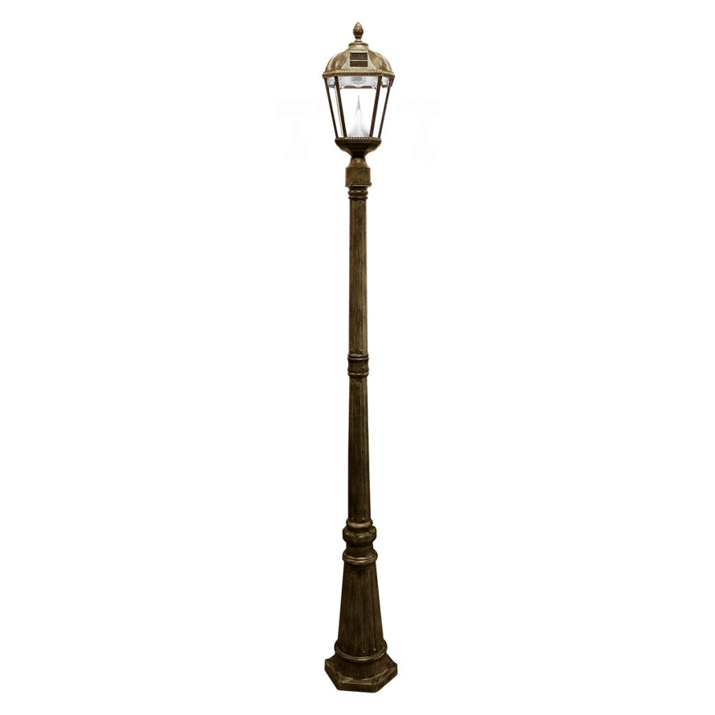 Royal Series Bronze Solar Lamp Post