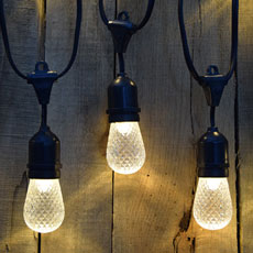 a light lighting led ball outdoor to string pole how exterior backyard bulb strand globes lights