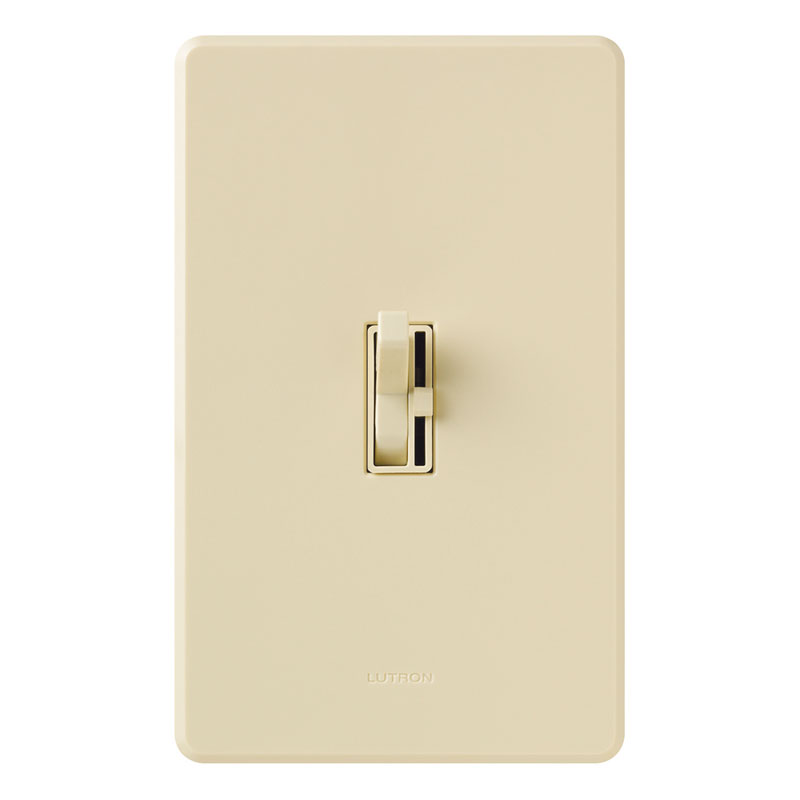 Ivory Lutron Toggler Led Cfl Slide Dimmer Switch