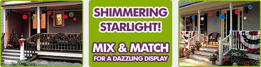 "6"" Mini Starlight Sphere Lights - Starlight Spheres - Decorative Lighting & Party Lights"