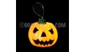 Hanging Orange Wax Halloween Pumpkin Flickering LED Light ML-31319