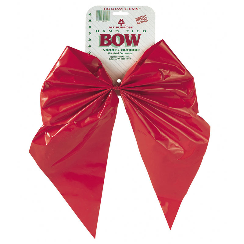 2 loop red velvet christmas bows 11 - Red Christmas Bows