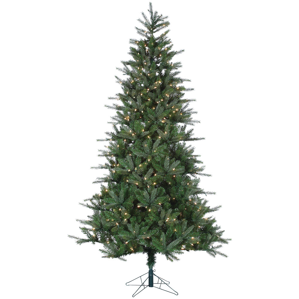 Pre-Lit Clear Pre-Lit Christmas Holiday Tree - 7.5'
