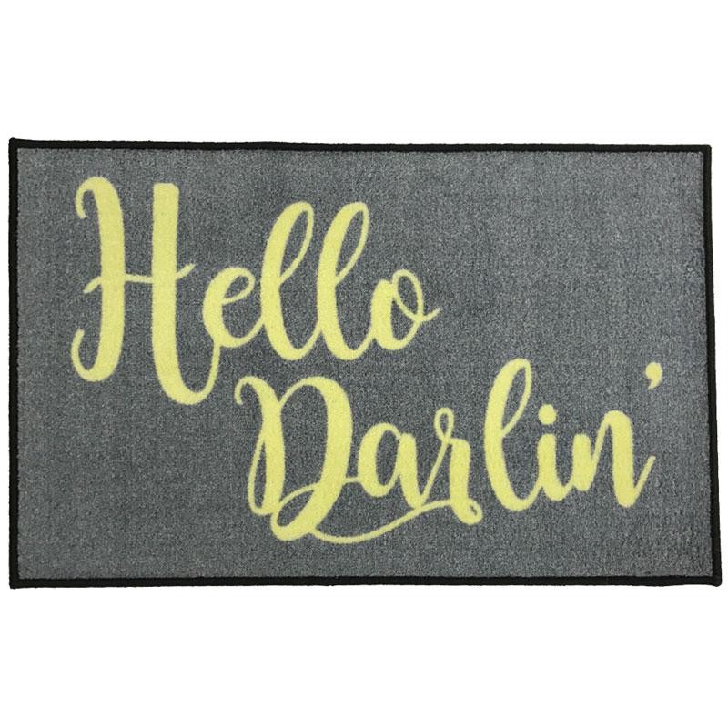 Hello Darlin Novelty Welcome Mat
