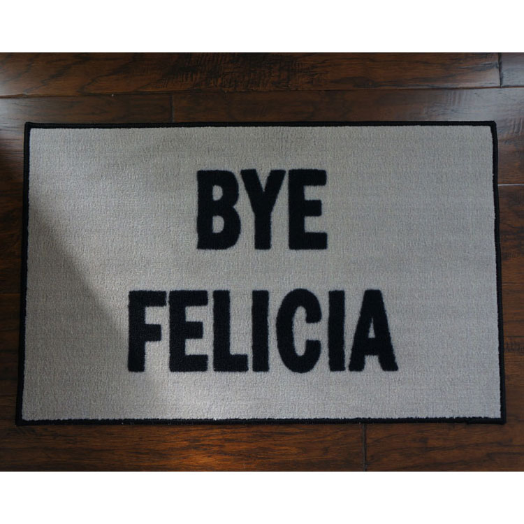 Bye felicia novelty door mat - Novelty welcome mats ...