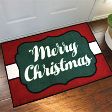 2' x 3' Merry Christmas Welcome Door Mat