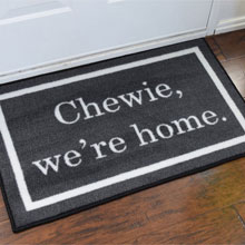 Star Wars: Chewie We're Home Novelty Welcome Doormat